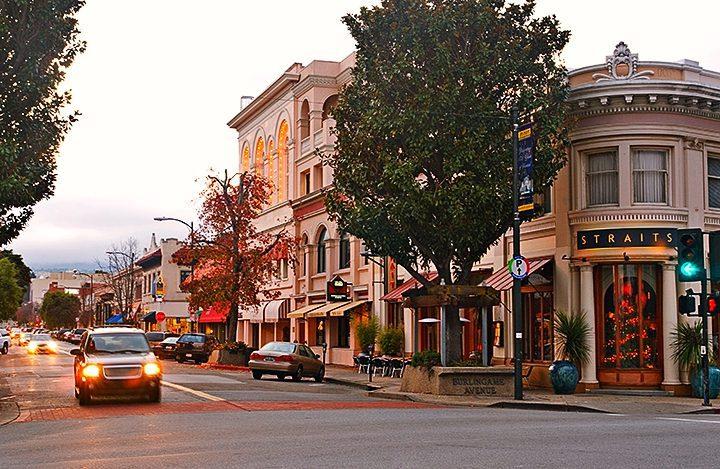 Restaurants Downtown Burlingame California